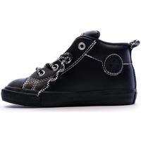 Sapatos Criança Sapatilhas de cano-alto Converse  Preto