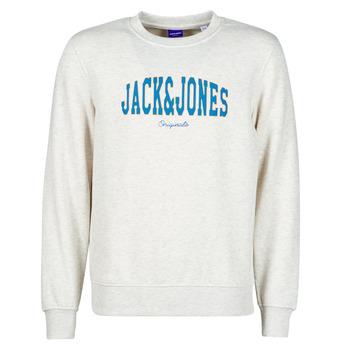 Textil Homem Sweats Jack & Jones JORHART Branco