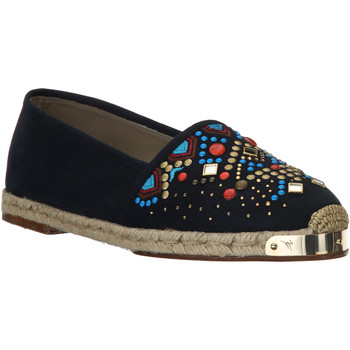 Sapatos Mulher Alpargatas Giuseppe Zanotti E66084 NAVY beige