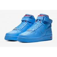 Sapatos Sapatilhas de cano-alto Nike Air Force 1 High x Don C University Blue/University Blue