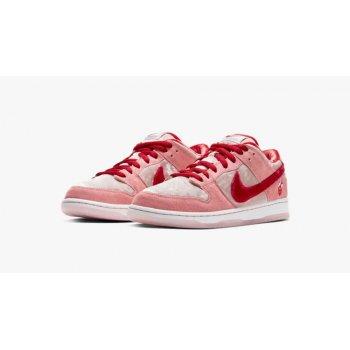 Sapatos Sapatilhas Nike SB Dunk Low Strangelove Pink/Red/White