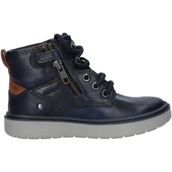 Sapatos Rapaz Botas Geox J947SA 0JHMW J RIDDOCK Azul