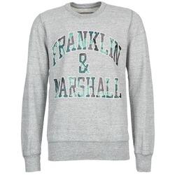 Textil Homem Sweats Franklin & Marshall COLFAXO Cinza