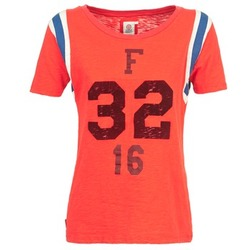 Textil Mulher T-Shirt mangas curtas Franklin & Marshall POINTO Coral