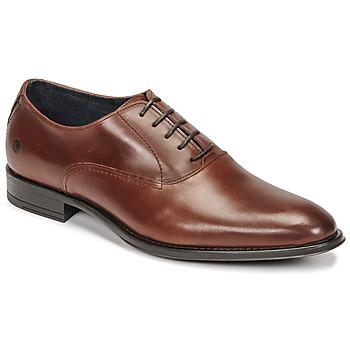 Sapatos Homem Richelieu Carlington OLILO Conhaque