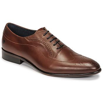 Sapatos Homem Richelieu Carlington OULIO Conhaque