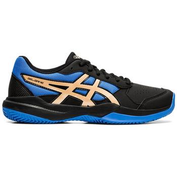 Sapatos Criança Sapatilhas de ténis Asics Chaussures enfant  Gel-Game 7 Clay/OC noir/doré
