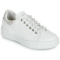 Sapatos Mulher Sapatilhas Café Noir THINA Branco