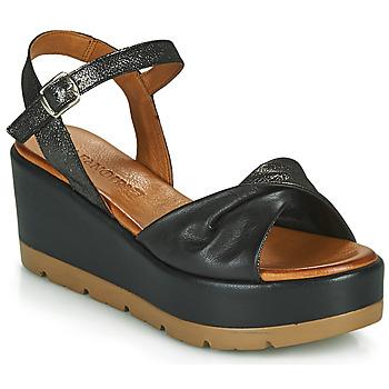 Sapatos Mulher Sandálias Café Noir HOLISTA Preto