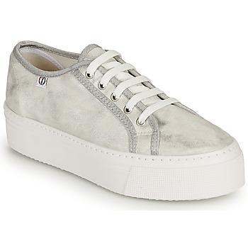 Sapatos Mulher Sapatilhas Yurban SUPERTELA Prateado