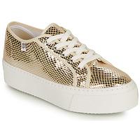 Sapatos Mulher Sapatilhas Yurban SUPERTELA Ouro