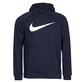 Textil Homem Sweats Nike DF HDIE PO SWSH Azul / Branco