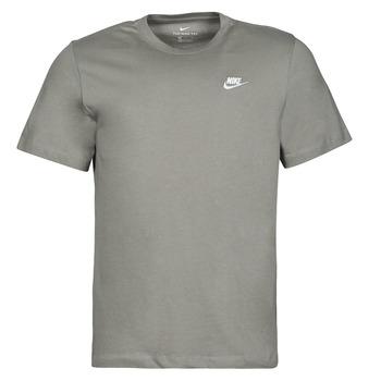 Textil Homem T-Shirt mangas curtas Nike NSCLUB TEE Cáqui
