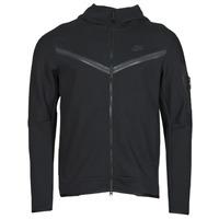 Textil Homem Casacos fato de treino Nike NSTCH FLC HOODIE FZ WR Preto
