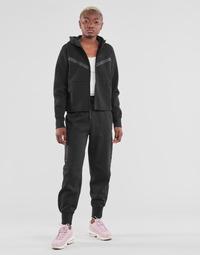 Textil Mulher Calças de treino Nike NSTCH FLC ESSNTL HR PNT Preto