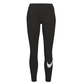 Textil Mulher Collants Nike NSESSNTL GX MR LGGNG SWSH Preto / Branco