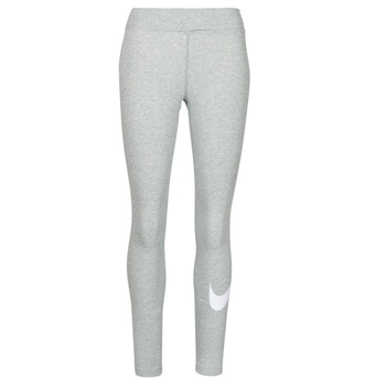 Textil Mulher Collants Nike NSESSNTL GX MR LGGNG SWSH Cinza / Branco