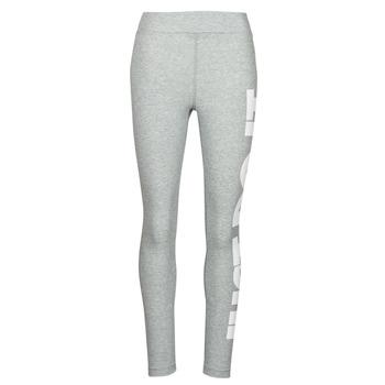Textil Mulher Collants Nike NSESSNTL GX HR LGGNG JDI Cinza / Branco