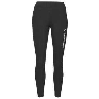 Textil Mulher Collants Nike NSSWSH LGGNG HR Preto / Branco