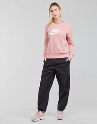 Textil Mulher Calças de treino Nike NSICN CLASH PANT CANVAS HR Preto / Cinza