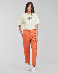 Textil Mulher Calças de treino Nike NSICN CLASH PANT CANVAS HR Castanho / Laranja