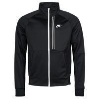 Textil Homem Casacos fato de treino Nike NSTE N98 PK JKT TRIBUTE Preto / Branco