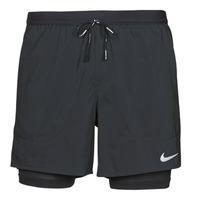Textil Homem Shorts / Bermudas Nike DF FLX STRD 2IN1 SHRT 5IN Preto