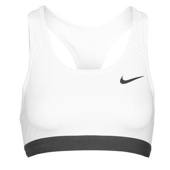 Textil Mulher Tops e soutiens de desporto Nike DF SWSH BAND NONPDED BRA Branco / Preto