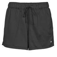 Textil Mulher Shorts / Bermudas Nike DF ATTACK SHRT Preto / Branco