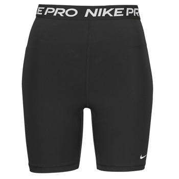 Textil Mulher Shorts / Bermudas Nike NIKE PRO 365 SHORT 7IN HI RISE Preto / Branco