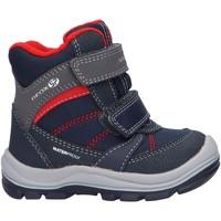 Sapatos Rapaz Botas Geox B943TA 0CE54 B TRIVOR Azul