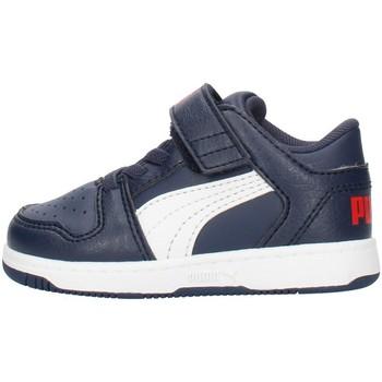 Sapatos Rapaz Sapatilhas Puma 371470 Azul