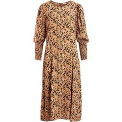 Textil Mulher Vestidos Vila  Marrón
