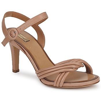 Sapatos Mulher Sandálias Eva Turner  Castanho