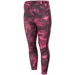 Textil Mulher Calças 4F SPDF010 Bordô