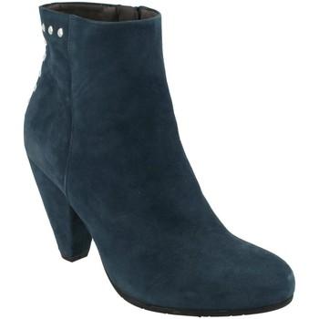 Sapatos Mulher Botins She - He  Azul