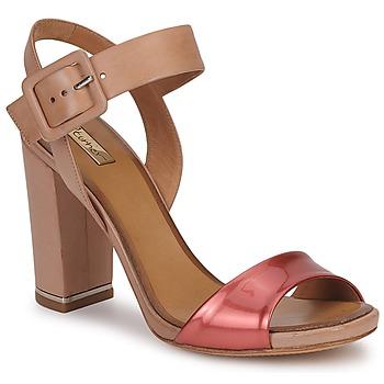 Sapatos Mulher Sandálias Eva Turner  Bronze / Vermelho