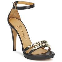 Sapatos Mulher Sandálias Eva Turner  Preto