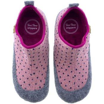 Sapatos Mulher Chinelos Toni Pons Zapatillas de Casa  Mare-Lo Burdeos Rosa