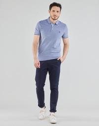 Textil Homem Chinos Selected SLHSLIM-MILES FLEX Marinho