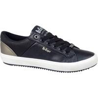 Sapatos Homem Sapatilhas Lee Cooper LCJL2031041 Preto, Dourado