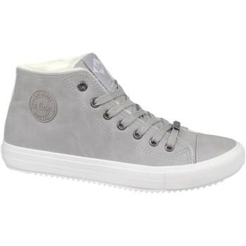 Sapatos Mulher Sapatilhas de cano-alto Lee Cooper LCJL2031013 Cinzento