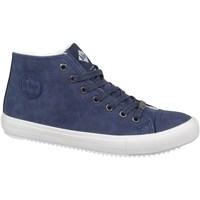 Sapatos Homem Sapatilhas de cano-alto Lee Cooper LCJL2031012 Azul marinho