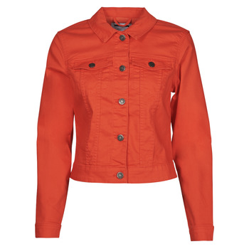 Textil Mulher casacos de ganga Noisy May NMDEBRA Vermelho