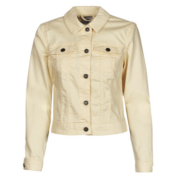 Textil Mulher casacos de ganga Noisy May NMDEBRA Amarelo