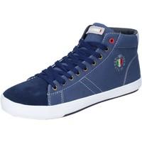 Sapatos Homem Sapatilhas de cano-alto Armata Di Mare Sneakers BJ84 Azul