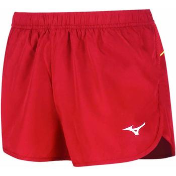 Textil Mulher Shorts / Bermudas Mizuno Short femme  Premium JPN Split rouge/rouge