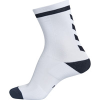Acessórios Criança Meias Hummel Chaussettes  elite indoor sock low blanc/noir