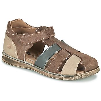 Sapatos Rapaz Sandálias Citrouille et Compagnie FRINOUI Castanho