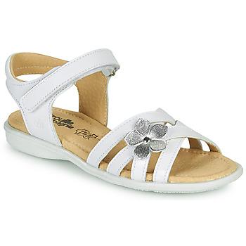 Sapatos Rapariga Sandálias Citrouille et Compagnie HERTUNE Branco